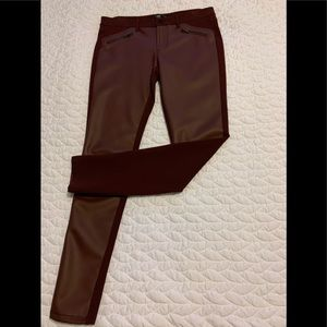 Chic Leather-Look Pants
